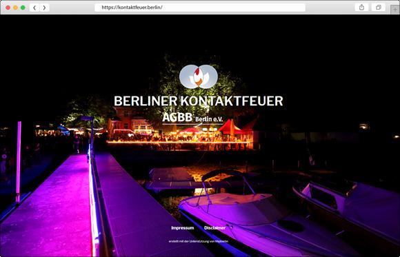 Kontaktfeuer Webseite